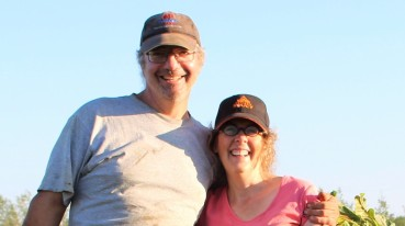 Sylvain et Suzanne, vos fermiers de famille de la Rondine